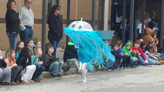Jenny Jellyfish in parade