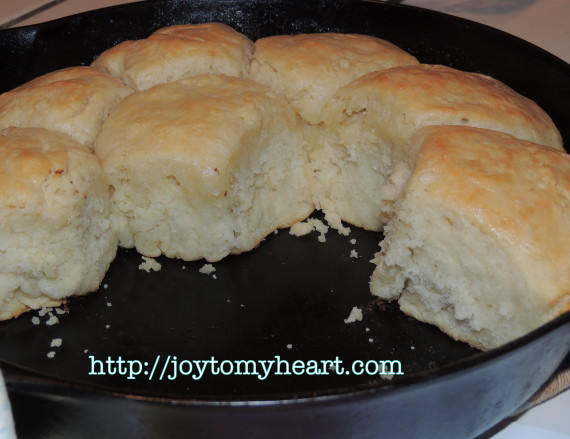 buttery sourdough biscuits pan