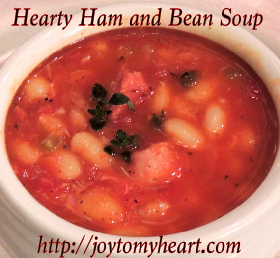 hearty ham and bean soup4