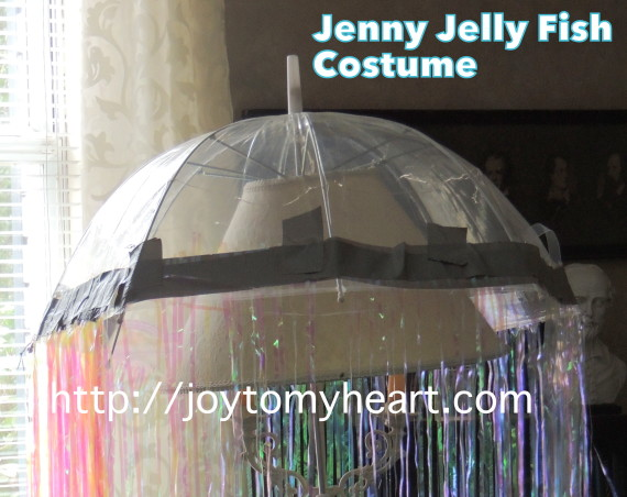 jenny jelly fish costume closeup