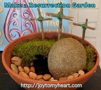 make a resurrection garden
