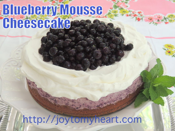 blueberry Mouse Cheesecake
