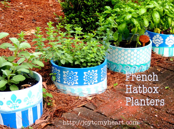 french hatbox planters9