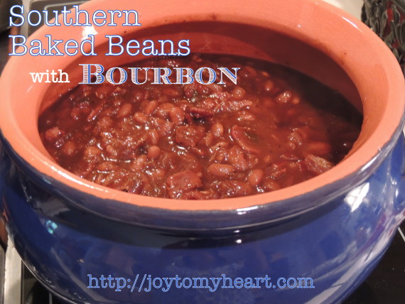 Southern Baked Beans with Bourbon3