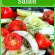 marinated cucumber and tomato salad