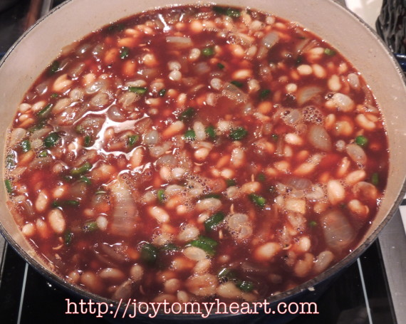 southern baked beans pan