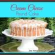 Cream cheese pound cake3