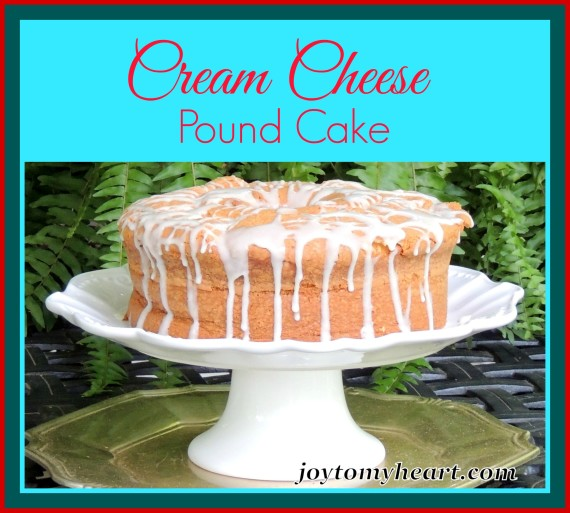 Cream cheese pound cake3