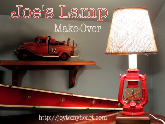 joes lamp makeover