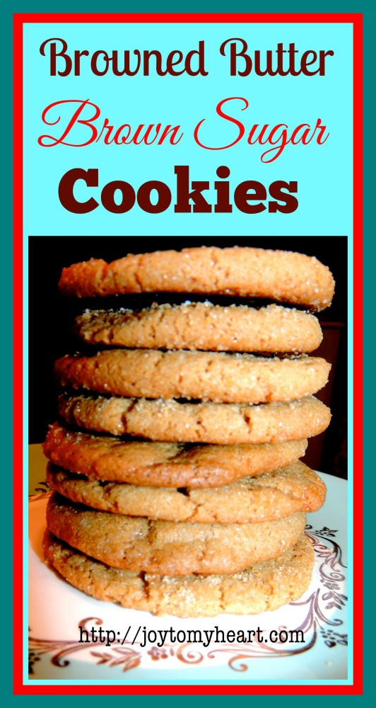Browned Butter Cookies ad