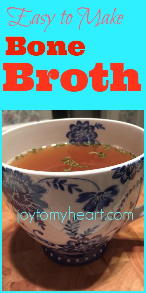Easy to Make Bone Broth