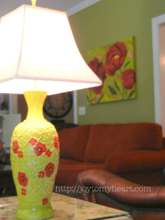 jennifers poppy lamp makeover