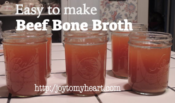 beef bone broth easy to make